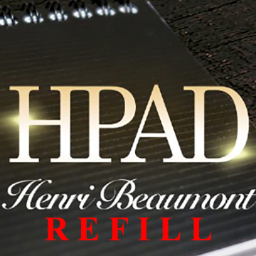 Refill for HPad by Henri Beaumont and Marchand de Trucs