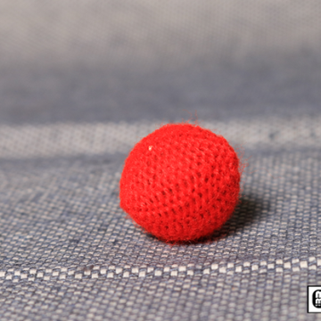 Crochet Ball .75 inch Single (Red) by Mr. Magic