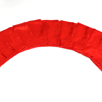 Silks 15 inch 12 Pack (Red) Magic by Gosh   (12 PACK IS 1 UNIT)