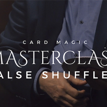 Card Magic Masterclass (False Shuffles and Cuts) by Roberto Giobbi