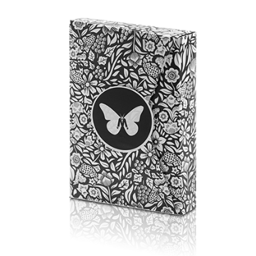 Butterfly Playing Cards Marked (Black and White) by Ondrej Psenicka