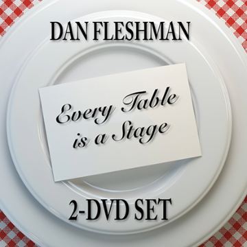 Every Table is a Stage (2-DVD Set) by Dan Fleshman