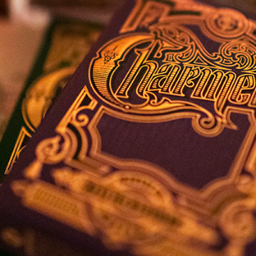 Charmers (Purple) Playing Cards By Kellar and Lotrek