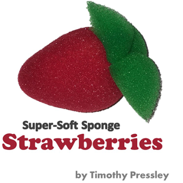 Super-Soft Sponge Strawberries by Timothy Pressley and Goshman