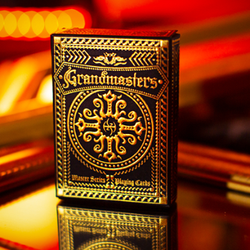 Grandmasters Casino  XCM (Foil Edition) Playing Cards by HandLordz