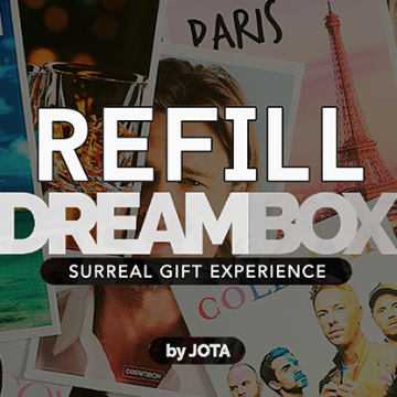 Dream Box Giveaway/Refill by JOTA