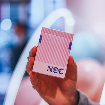 Limited Edition NOC3000X2 (Pink) Playing Cards