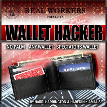Wallet Hacker (Red) by Joel Dickinson