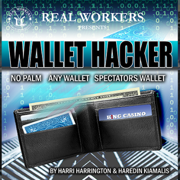 Wallet Hacker (Blue) by Joel Dickinson