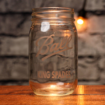 Engraved (Mason Jar KS) by James Kellogg
