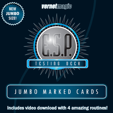 E.S.P. Jumbo Testing Cards by Vernet Magic