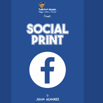 Social Print by Juan Alvarez and Twister Magic (Leo DiCaprio)
