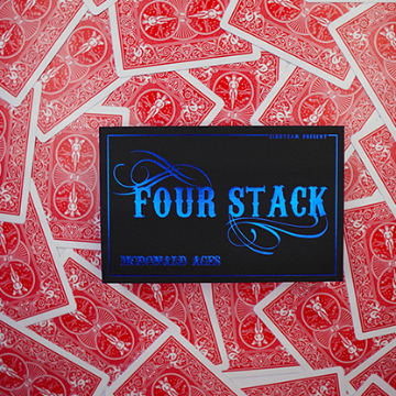 FOUR STACK RED by Zihu