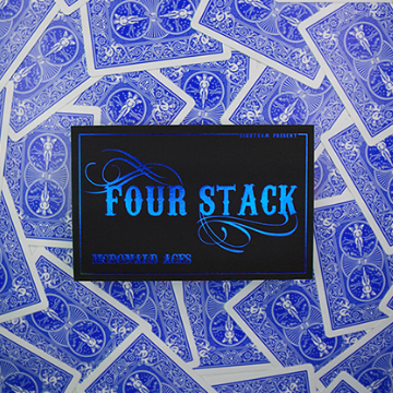 FOUR STACK BLUE by Zihu