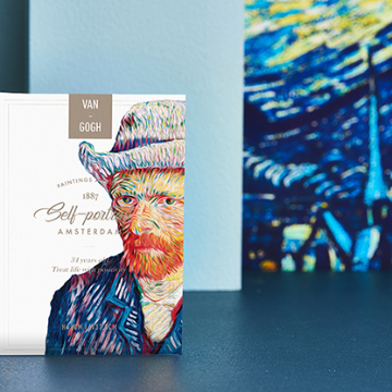 Van Gogh (Self-Portrait) Playing Cards