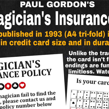 The Magician's Insurance Policy by Paul Gordon