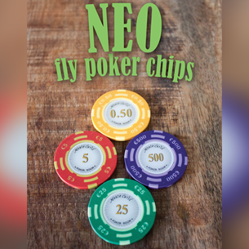 Neo Fly Poker Chips by Leo Smetsers