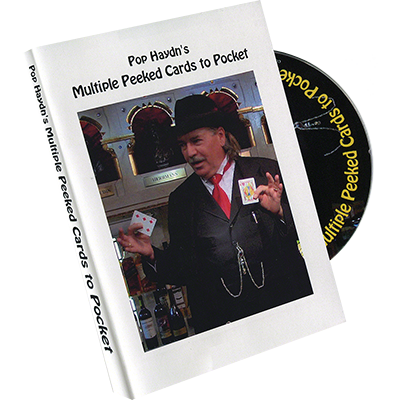 Pop Haydn's Multiple Peeked Cards to Pocket by Pop Haydn