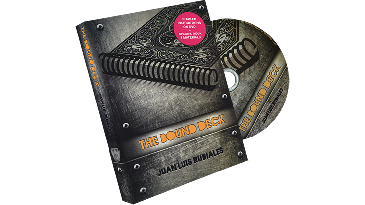 The Bound Deck DVD and Gimmick (Red) by Juan Luis Rubiales and Luis de Matos
