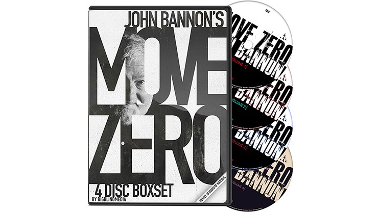 Move Zero (4 Volume Set) by John Bannon and Big Blind Media