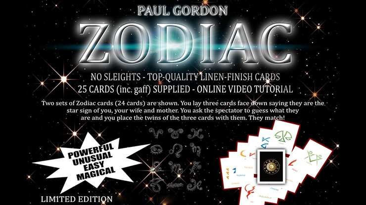 Zodiac by Paul Gordon