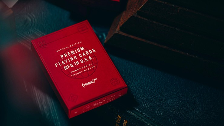 Red Special Edition Playing Cards by theory11