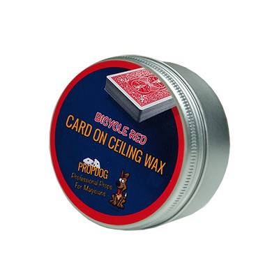 Card on Ceiling Wax 50g (red) by David Bonsall and PropDog