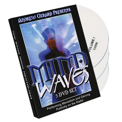 Mind Waves (3 DVD Set) by Andrew Gerard