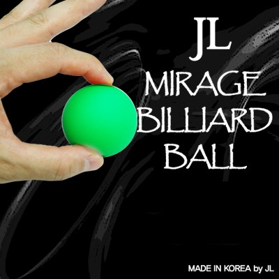 Mirage Billiard Balls by JL (GREEN, single ball only)