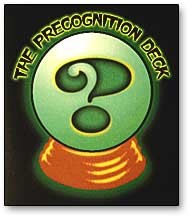 Precognition Deck by Chris Kenworthey