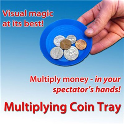 Multiplying Coin Tray by Royal Magic