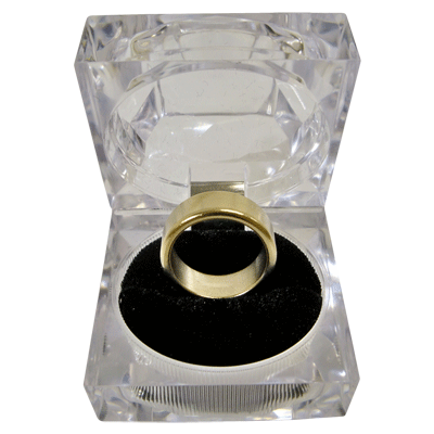 Wizard PK Ring Original (FLAT, GOLD, 16mm) by World Magic Shop